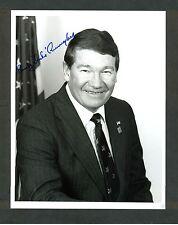 "Rep. Randy Duke Cunningham CA - 7""x9"" AUTOGRAPHED Glossy Photo - w/ LETTERHEAD"