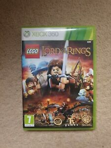 LEGO The Lord of the Rings For Microsoft Xbox 360 Complete Tested and Working