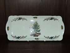 1 Kuchenplatte Königskuchenplatte  Marie-Luise Weihnachten von Seltmann Weiden