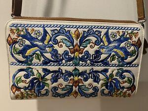 NEW Brighton Embroidered CrossBody Handbag