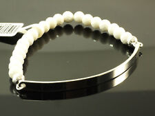 Thomas Sabo Armband  Love bridge weiße Perle LBA 0001 130 14 L 16 cm