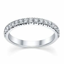 Excellent Cut Round White Gold Fine Diamond Rings