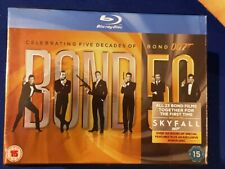James Bond 50 Celebrating Five Decades of 007 Blu-ray 23 Disc Set