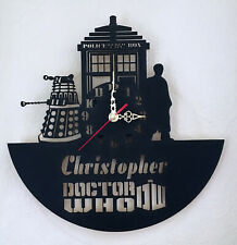 PERSONALISED DR WHO ACRYLIC CLOCK