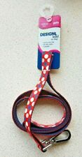 NYLON DOG LEAD - REFLECTIVE - PETS AT HOME - BRAND NEW - 102cms - DESIGN - LEASH