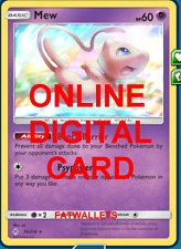 1X Mew 76/214 Unbroken Bonds Pokemon TCG Online Digital Card