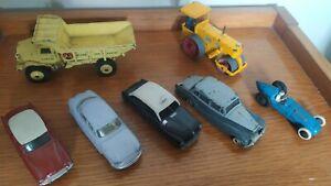 Lot Voitures Dinky Toys Panhard/Simca/Talbot