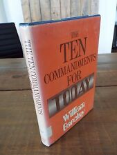 The Ten Commandments For Today by William Barclay - 1971