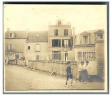 France, Lion sur Mer, Ancienne maison Bigot  Vintage silver print Tirage arg