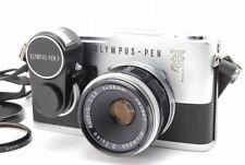 �Exc+】Olympus Pen F 35mm Slr w 38mm f 2.8 Lens & Light Meter From japan #70