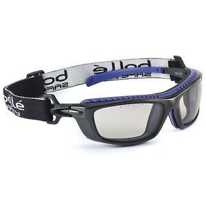 Bolle Baxter Safety Glasses Goggles w/ CSP Anti-Fog Lens, Black Frame Z87+ 40278