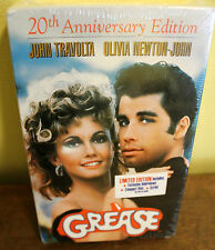 GREASE 20th Anniversary VHS Videotape / CD & Script NEW Factory Sealed/Stamped