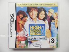 jeu DISNEY HIGH SCHOOL MUSICAL 2 sur nintendo DS en francais game juego spiel