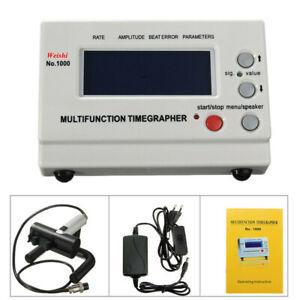 Multifonction montre mécanique Coaxial LCD Testeur Timing Timegrapher 1000