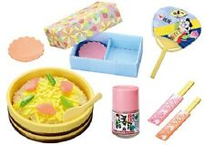 Re-Ment Miniature Momoya the Japanese nostalgic meals Set # 2 Scattered Sushi