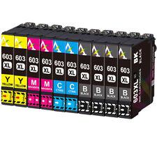 Druckerpatronen für Epson 603 XL XP-2105 XP-3100 XP-3105 WF-2830 DWF WF-2835 DWF