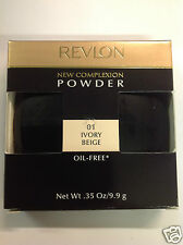 Revlon New Complexion Powder, Ivory Beige , 0.35 Ounce OIL -FREE NEW.