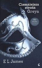 Ciemniejsza strona Greya, EL James, polska ksiazka, polish book