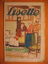 LISETTE N° 36 du 04/09/1938 -18 ème année -éditions de Montsouris