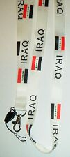 Iraq Iraqi Country Flag Lanyard Neck Strap 4 Mobile MP3 IPOD Conference Pass