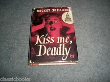 Kiss Me, Deadly Mickey Spillane True 1st Issue 1st Print