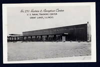 U.S. Naval Training Center Illinois IL RPPC EKC Navy military postcard