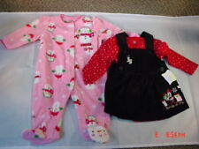 NWT 2 piece Christmas Snowman Sleeper + Jumper Infant Disney Baby Minnie Mouse