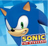 SONIC the HEDGEHOG  beverage paper NAPKINS birthday party supplies 16pcs 2-ply