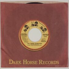 GEORGE HARRISON: All Those Years Ago US Dark Horse DRC49725 Beatles 45