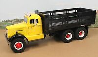 Fumby Street Motors 1957 White WC-22 Stake Truck 1:15 MIB Yellow Black SALE!