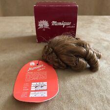 4 - 5  Annette Monique Auburn wig long ringlets curly hair Doll making parts 103