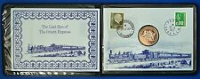 More details for 1977 medallic cover commemorating the last run of the orient express.   ch13-149