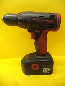 SNAP ON CDRA4450 13MM DRILL DRIVER WITH 18V BATTERY