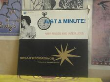 JUST A MINUTE, HARP MOODS AND INTERLUDES - SESAC LP PA 237/238