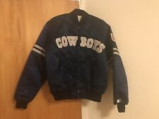 New listing Dallas Cowboys Men Starter Jacket Large Perfect Buttons With No Chip