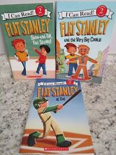 Lot of 3 Flat Stanley Early Readers I Can Read Level 2 Paperback