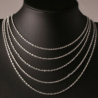 Fashion Women Necklace Pendant Alloy Silver Clavicle Chain Jewelry Lover Gift