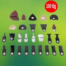 Neu 100 Pcs Multifunktionswerkzeug Zubehör Für Fein Multitool Werkzeug DE