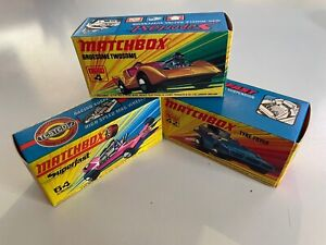 Matchbox Superfast Series - Lot of three.