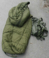 British Army Arctic Sleeping bags - Compression sack included