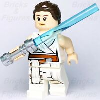New Star Wars LEGO® Rey White Jedi Robe Minifigure Rise of Skywalker 75250