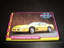 Muscle Cars II #KH9 1993 King Of The Hill INSERT TRADING Card 1991 Callaway Twin