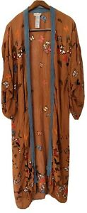 Free People All To Us Butterfly Kimono