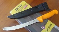 "SWIBO 8"" CURVED FLEX FILLET KNIFE 5.8452.20 WITH POLY SCABBARD PRESENTATION PACK"