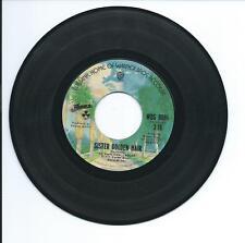 """1975 AMERICA """"SISTER GOLDEN HAIR"""" 45rpm 7"""""""
