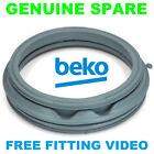 BEKO WM72CPW WM7335W WM7355S WM74135W WM7413W Washing Machine Door Seal GENUINE
