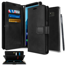 For Samsung Galaxy S9/ S8/ Plus/ Note8 Dual Shockproof Flip Wallet leather Case
