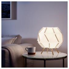 """Ikea SJÖPENNA SJOPENNA Table Lamp Modern White 12"""" x 11"""" + LED Bulb - NEW"""