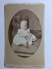 Victorian Carte De Visite CDV Photo - Glanville  - Tunbridge Wells - Child