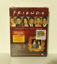 Friends - The Complete Tenth Season 10 (DVD, 2005, 4-Disc Set) NEW REGION 1